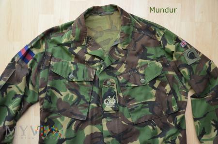 Wielka Brytania - jacket DPM Combat Lightweight