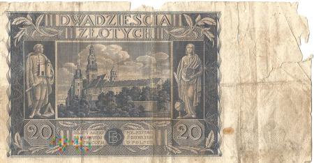 20 złotych 1936