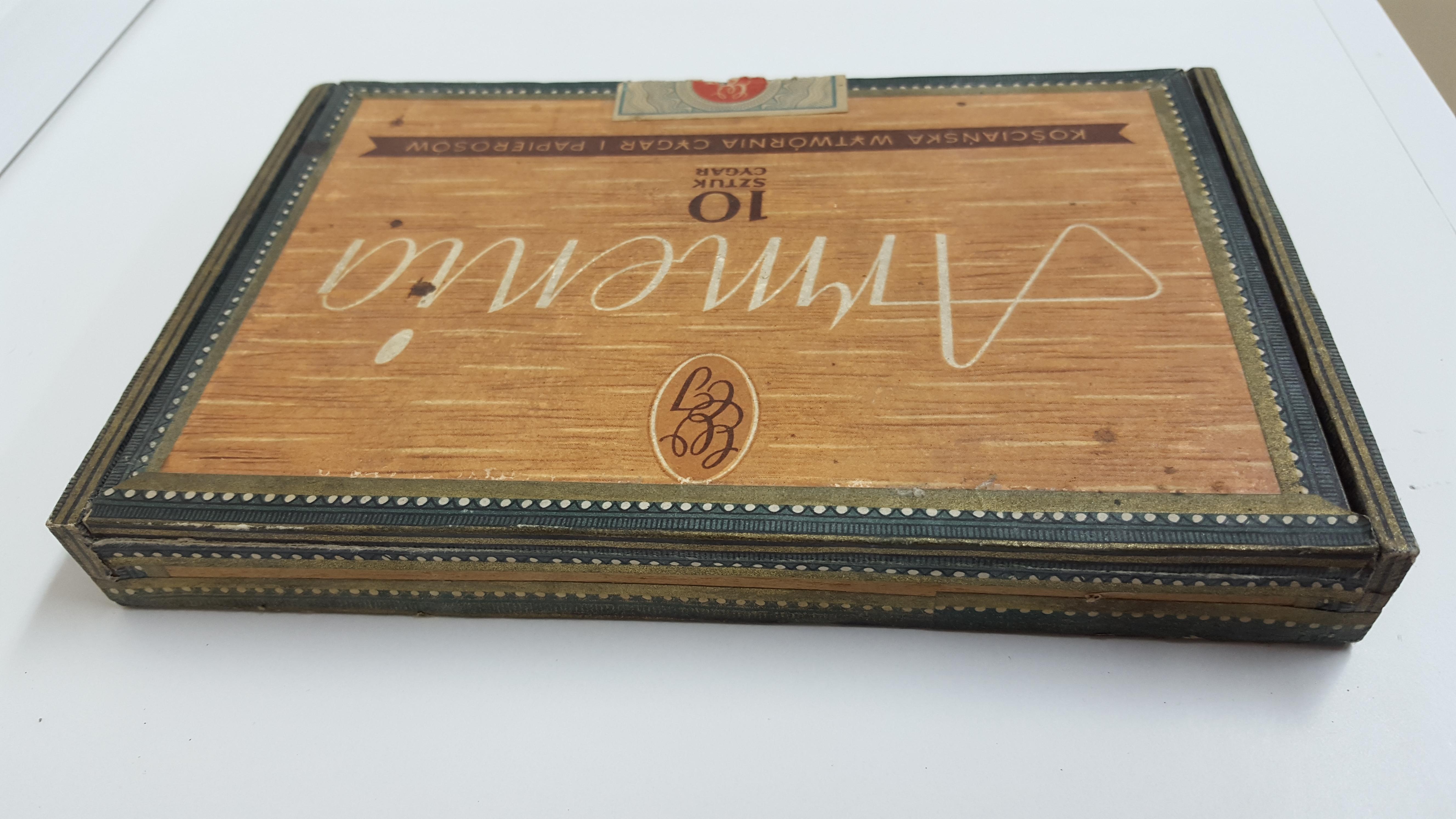Ogromny Cygara ARMENIA - pudełko Cena w Kolekcja Papierosów Patricco w GR08