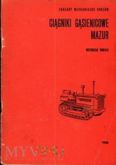 Ciagnik Mazur D 50 - Instrukcja obsługi