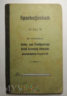 Sparkassenbuch Gogolin 1941