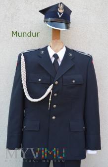 Czarny mundur galowy GROM