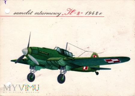 samolot szturmowy Ił 2 1942 r.
