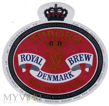 Tuborg Royal Brew Denmark