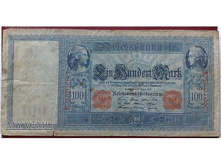 100 Marek z 1910r. - Niemcy