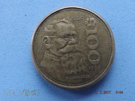 Meksyk, 100 Pesos 1984