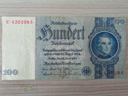 100 marek reichsmark