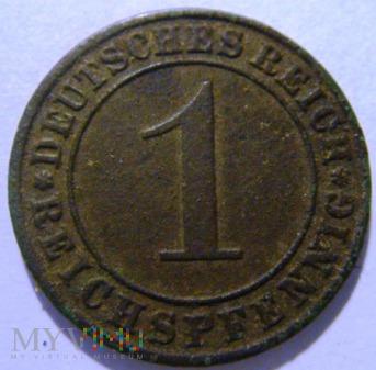 1 Pfennig 1929 , A