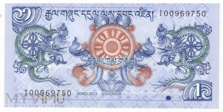 Bhutan - 1 ngultrum (2013)