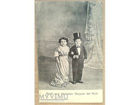 Najniższa para małżeńska świata : LILIPUCI