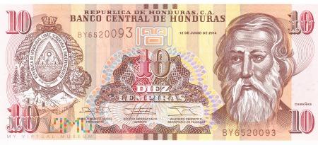 Honduras - 10 lempir (2014)
