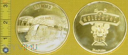 Medal kolejowy stacji Gliwice
