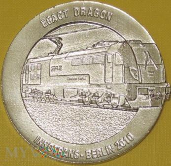 Medal lokomotywy Dragon