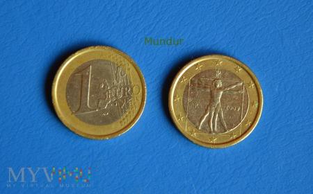 Moneta: 1 euro WŁOCHY