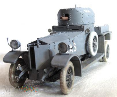 """Samochód pancerny Rolls-Royce """"Pattern 1914"""""""