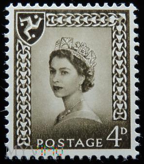 Isle of Man 4d Elżbieta II