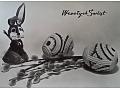 Zobacz kolekcję Wielkanoc - kartka pocztowa czarno-biała