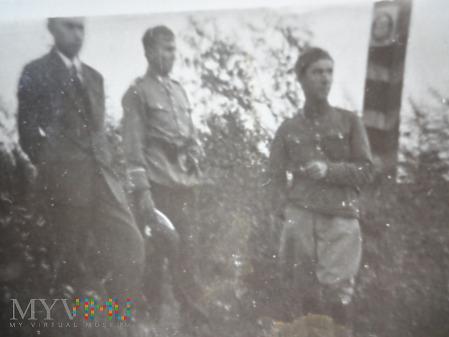 Żołnierze KOP na granicy