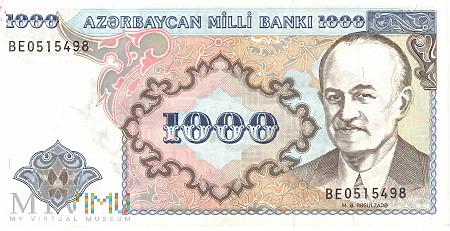 Azerbejdżan - 1 000 manatów (1993)