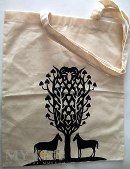 lniana torba z Przekroju z motywem koni