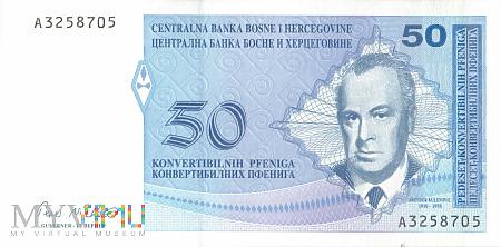 Bośnia i Hercegowina - 50 fenigów (1998)