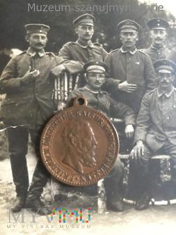Medalik Kaiser Friedrich III