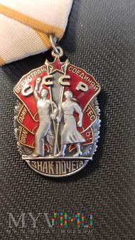 Order Znak Honoru t4 - wąskie litery Nr: 823323