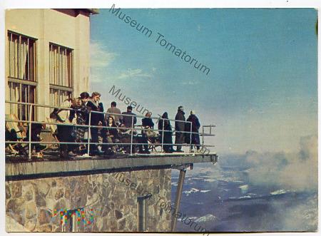 Duże zdjęcie Kasprowy Wierch - taras widokowy - 1963