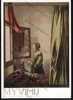 Delft - Dziewczyna czytająca list - 1956