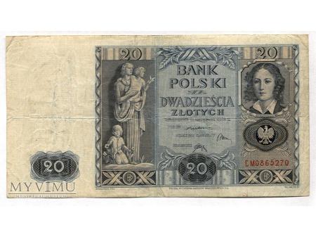 Duże zdjęcie 20 złotych