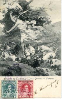 Arturo Michelena - Diana na polowaniu