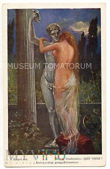 Quo Vadis - Eunice całuje posąg - Korpal