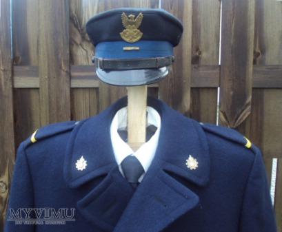 Duże zdjęcie Płaszcz zimowy strażaka zawodowego z lat 1970-80