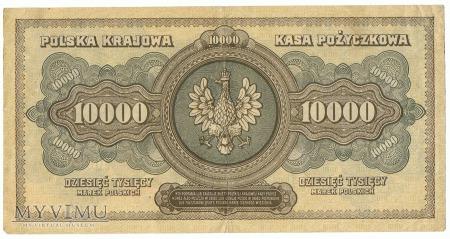 10 000 marek polskich - 1922 rok.