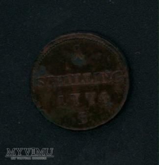 1 schilling 1774