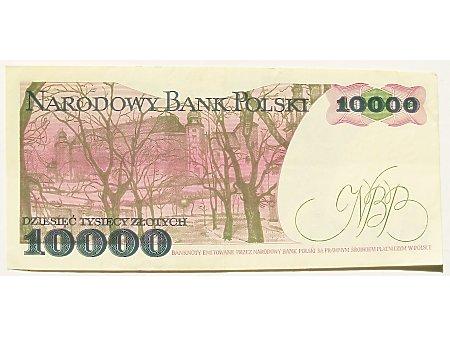 Polska- 10 000 zł 1988 r