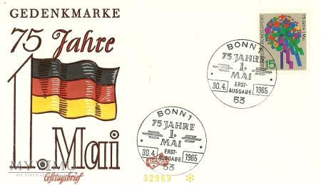 75 lat święta 1 maja - Niemcy (RFN)