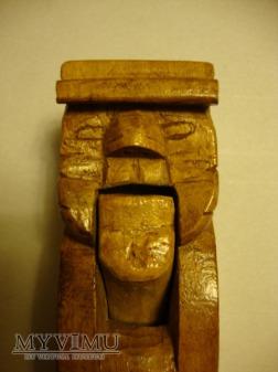 Ludowa rzeźba - dziadek do orzechów