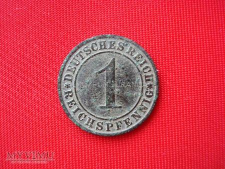 1 Reichspfennig 1927 rok