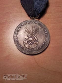 Medal II ogólnopolski zlot Organizacji młodzieży