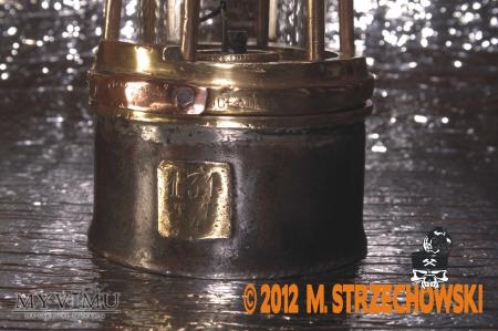 Lampa górnicza olejowa C. CORNIL A GILLY