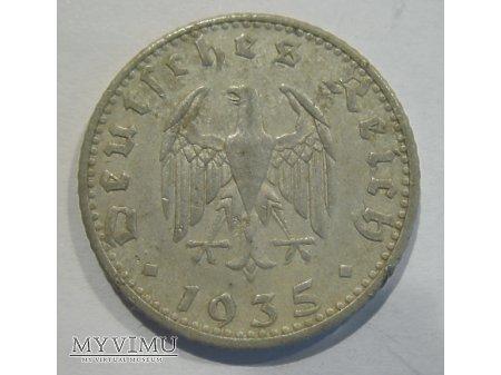 50 REICHSPFENNIG - Niemcy (1935)