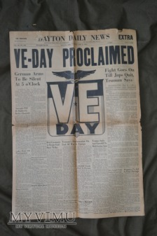The Dayton Herald: V-E Day(1945)