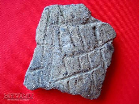 Fragmenty glinianych naczyń 1
