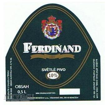ferdinand 10% světlé pivo