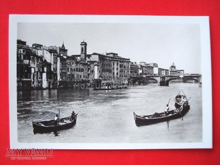Florencja - Widok na Arno