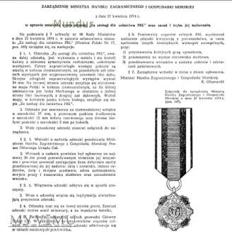 """Odznaka """"Za Zasługi dla Celnictwa PRL"""""""