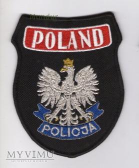 Oznaka misyjna POLICJA POLAND