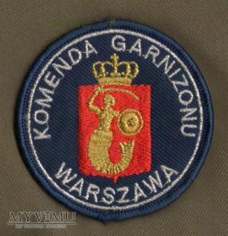 Oznaka Komenada Garnizonu Warszawa