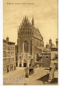 Kraków - Kościół Dominikanów - 1911